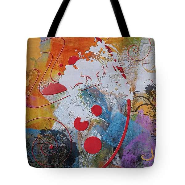 Abstract Women 012 Tote Bag by Corporate Art Task Force