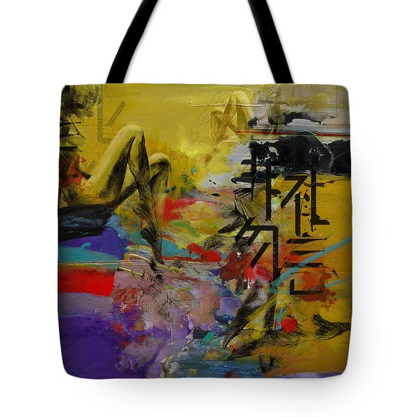 Abstract Women 016 Tote Bag by Corporate Art Task Force