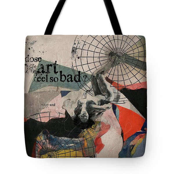 Abstract Women 024 Tote Bag by Corporate Art Task Force