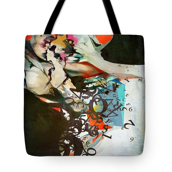 Abstract Women 025 Tote Bag by Corporate Art Task Force