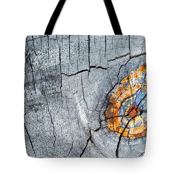 Abstract Woodgrain Upclose 6 Tote Bag