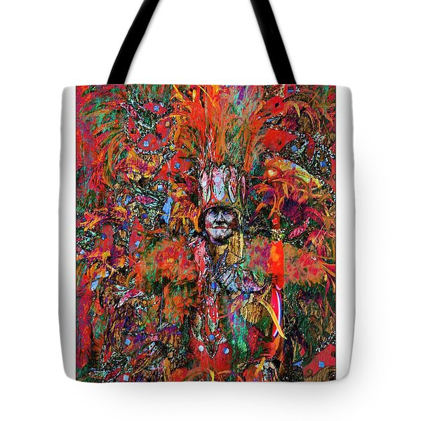 Abstracted Mummer Tote Bag