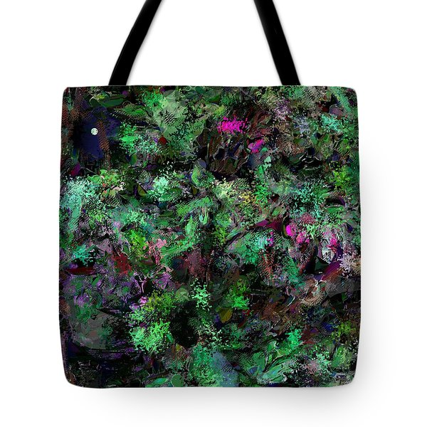 Tote Bag featuring the digital art Abstraction 121514 by David Lane