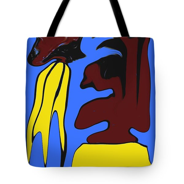 Abstraction 229 Tote Bag by Patrick J Murphy