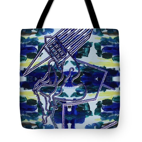 Abstraction 231 Tote Bag by Patrick J Murphy