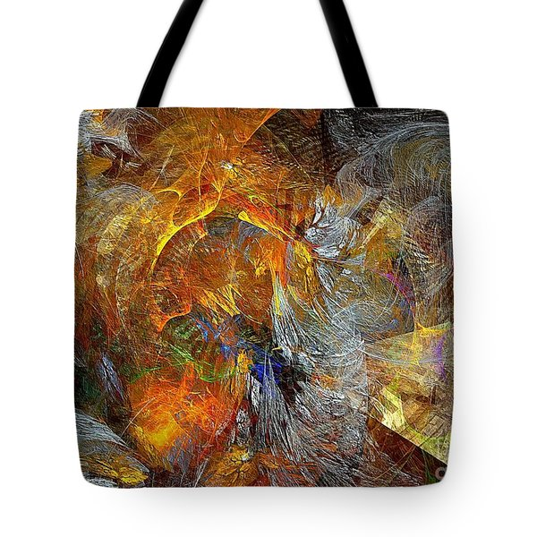 Abstraction 435-08-13  Marucii Tote Bag