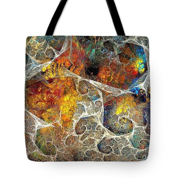 Abstraction 462-09-13 Marucii Tote Bag