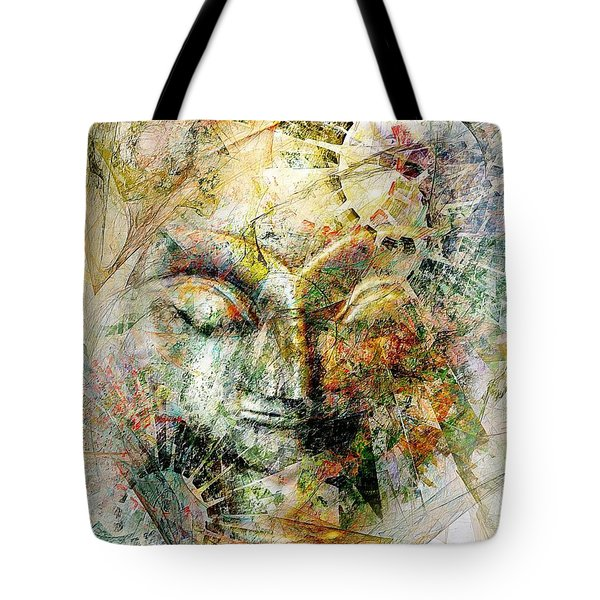 Abstraction 482-10-13 Marucii Tote Bag