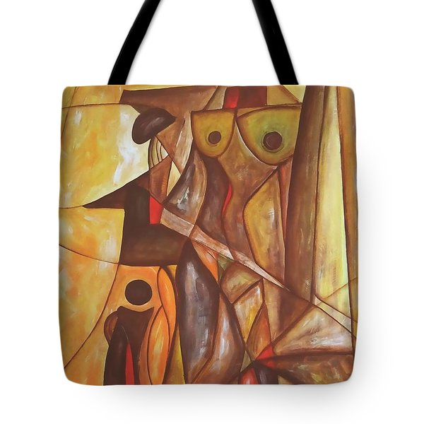 Abstraction 486-10-13 Marucii Tote Bag by Marek Lutek