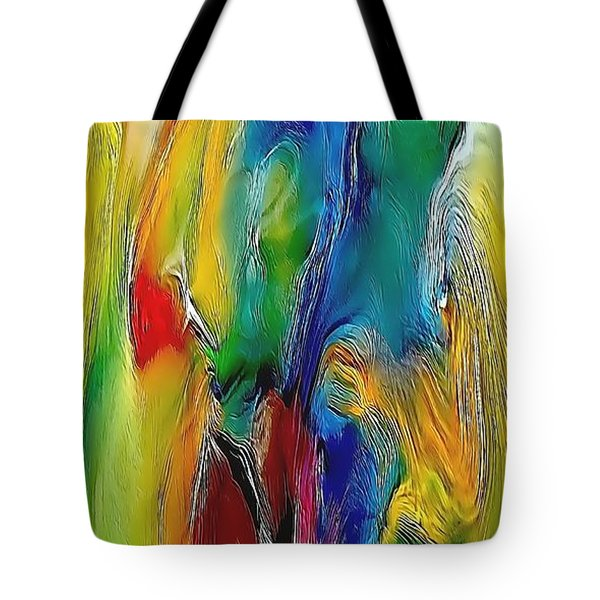 Abstraction 591-11-13 Marucii Tote Bag