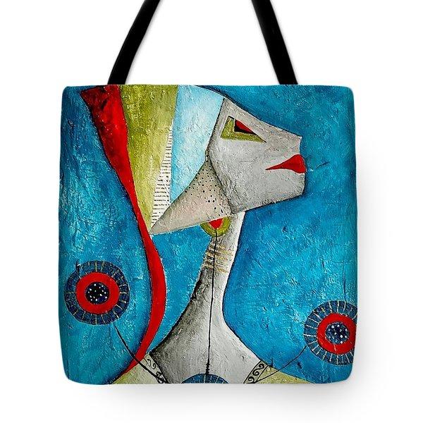 Abstraction 698 -marucii Tote Bag by Marek Lutek