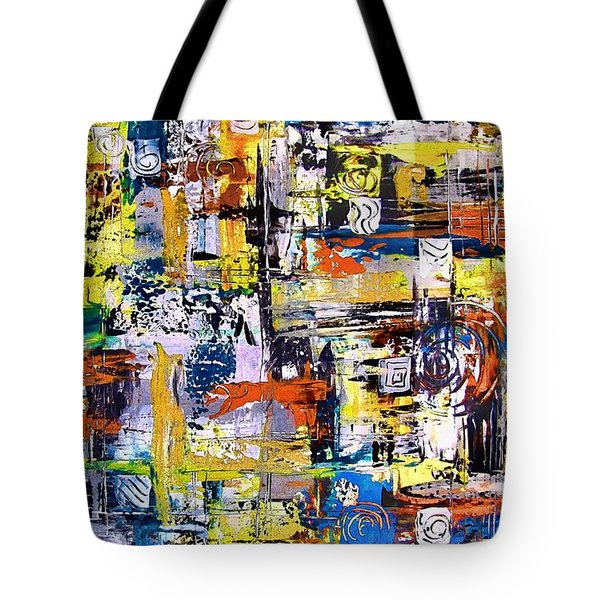 Abstraction 759 - Marucii Tote Bag