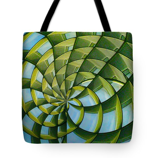 Abstraction A La M. C. Escher Tote Bag