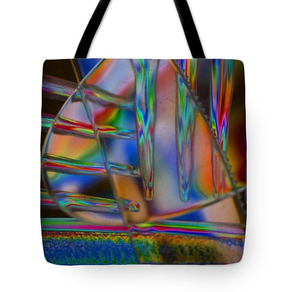 Abstraction In Color 1 Tote Bag