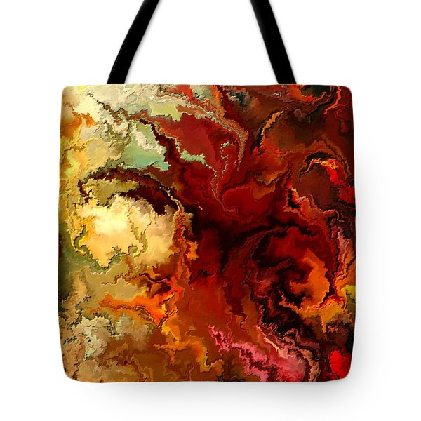 Abstraction Surrealist By Rafi Talby Tote Bag by Rafi Talby