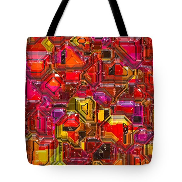 Abstractions... Tote Bag by Tim Fillingim