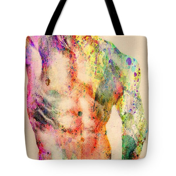 Abstractiv Body  Tote Bag