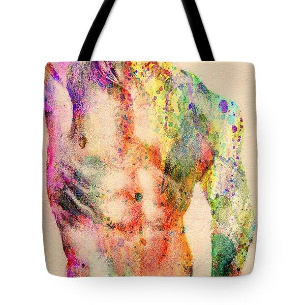 Abstractiv Body  Tote Bag by Mark Ashkenazi