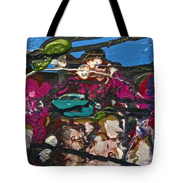 Abstracts 14 - Seascapes Tote Bag