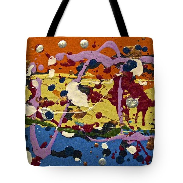 Abstracts 14 - The Circus Tote Bag