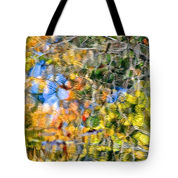 Abstracts Of Nature Tote Bag by Frozen in Time Fine Art Photography