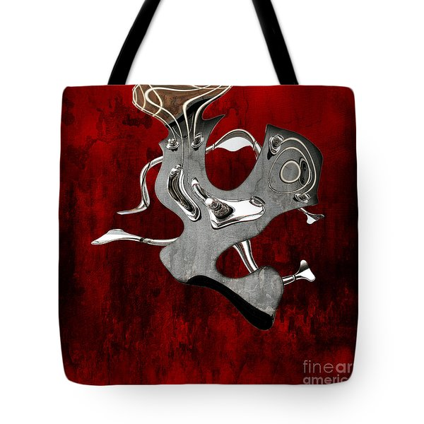 Abstrait En Si Mineur - S02t02 Tote Bag by Variance Collections