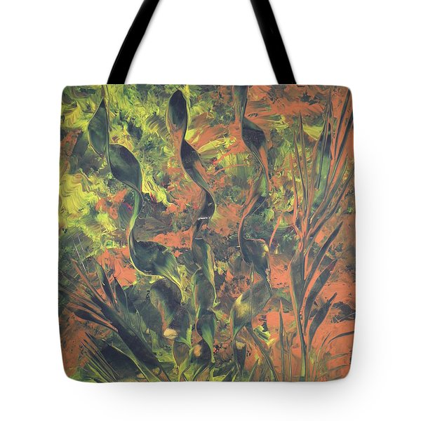 Abstrakte Farben Tote Bag by Nico Bielow