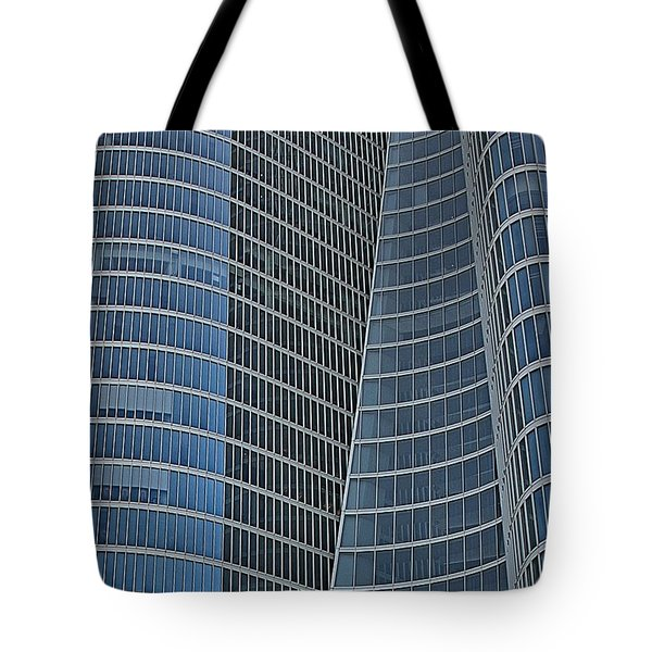 Tote Bag featuring the photograph Abu Dhabi Investment Authority by Steven Richman