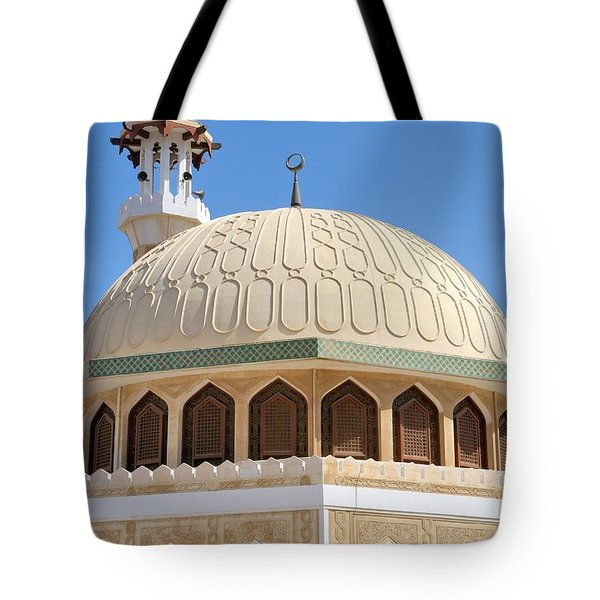 Tote Bag featuring the photograph Abu Dhabi Mosque by Steven Richman