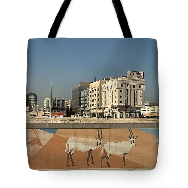 Tote Bag featuring the photograph Abu Dhabi Outskirts by Steven Richman