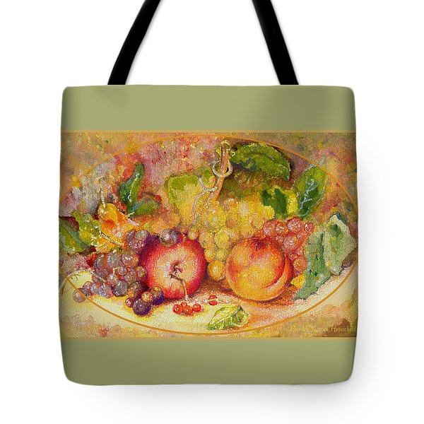 Tote Bag featuring the painting Abundance 1 by Brooks Garten Hauschild