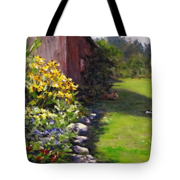 Abundance Tote Bag by Karen Ilari