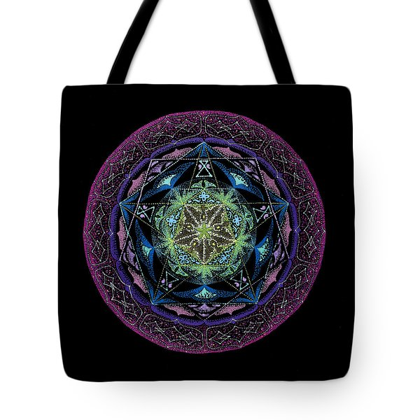 Tote Bag featuring the painting Abundance by Keiko Katsuta