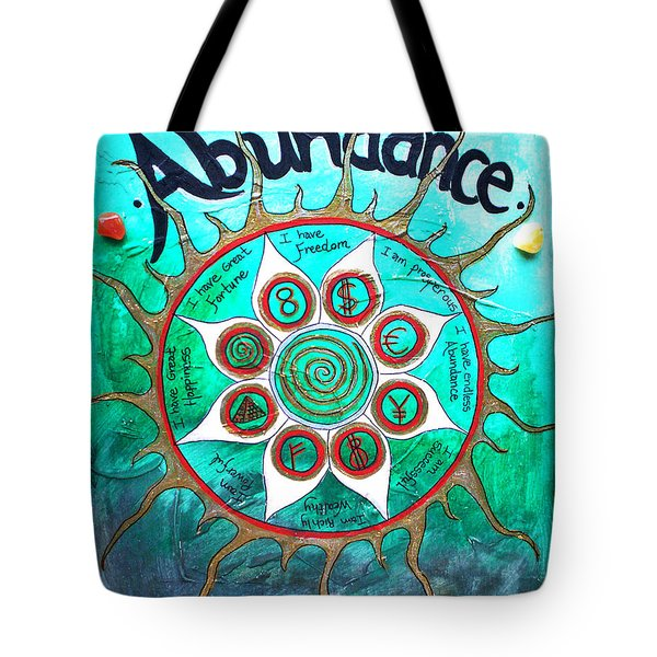 Abundance Money Magnet - Healing Art Tote Bag