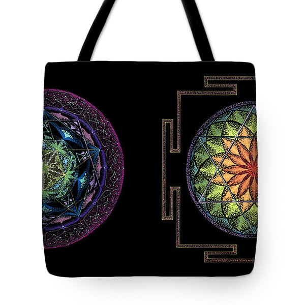 Tote Bag featuring the painting Abundance  Prosperity by Keiko Katsuta