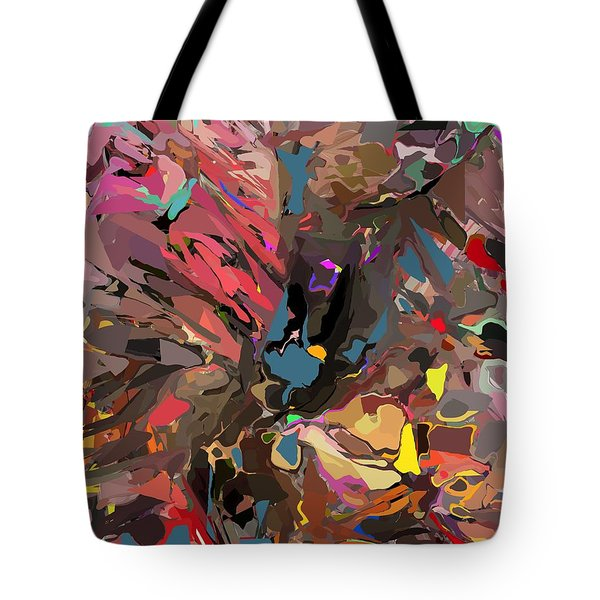 Tote Bag featuring the digital art Abyss 2 by David Lane