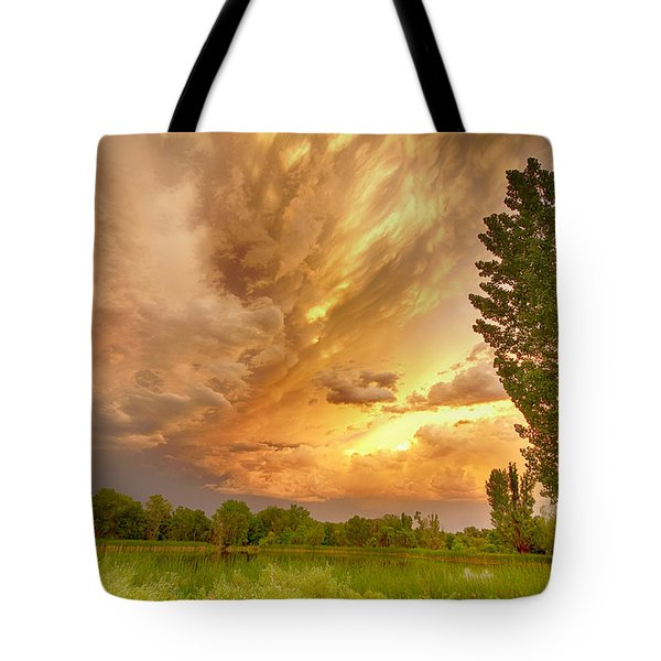 Abyss In The Sky Tote Bag