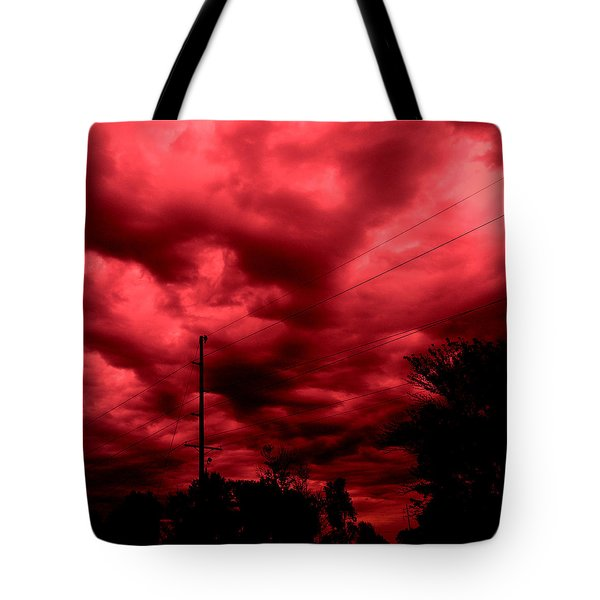 Abyss Of Passion Tote Bag by Jeff Iverson