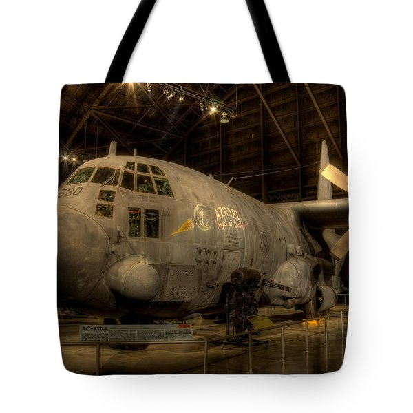 Ac-130 Gunship Tote Bag