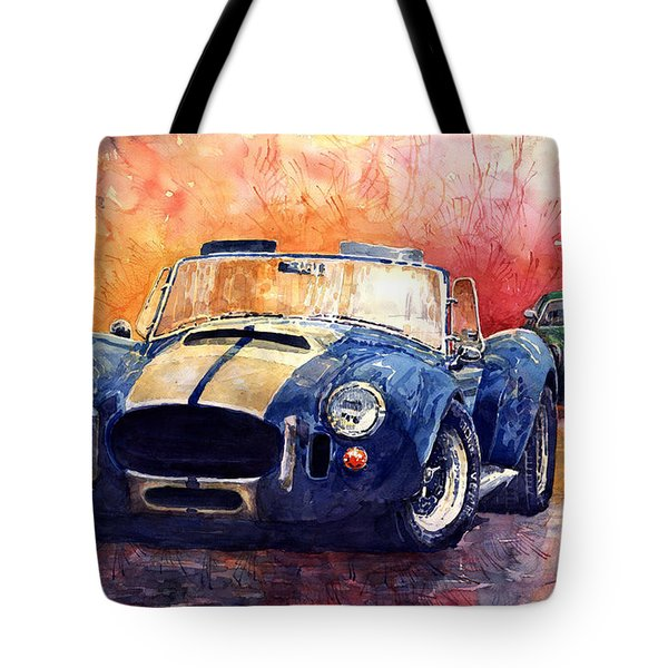 Ac Cobra Shelby 427 Tote Bag by Yuriy  Shevchuk