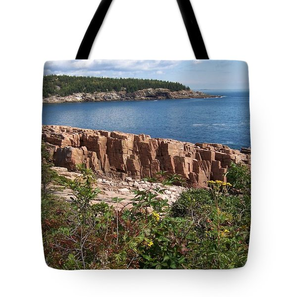 Acadia Maine Tote Bag by Catherine Gagne