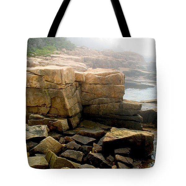 Acadia Morning 7647 Tote Bag by Brent L Ander
