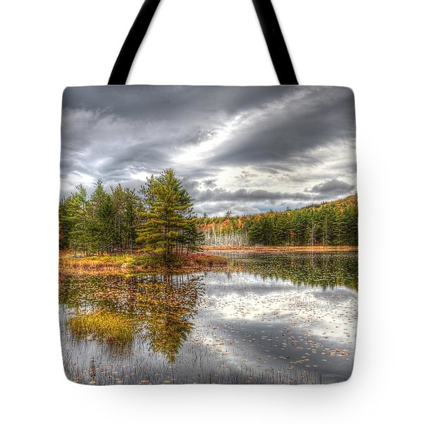 Tote Bag featuring the photograph Acadia With Autumn Colors by Wanda Krack