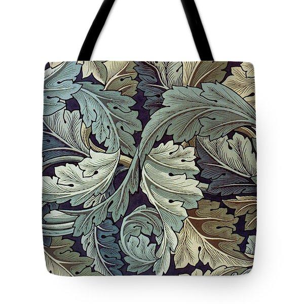 Acanthus Leaf Design Tote Bag by William Morris