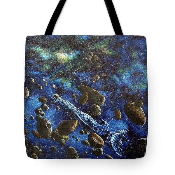 Accidental Asteroid Tote Bag by Murphy Elliott