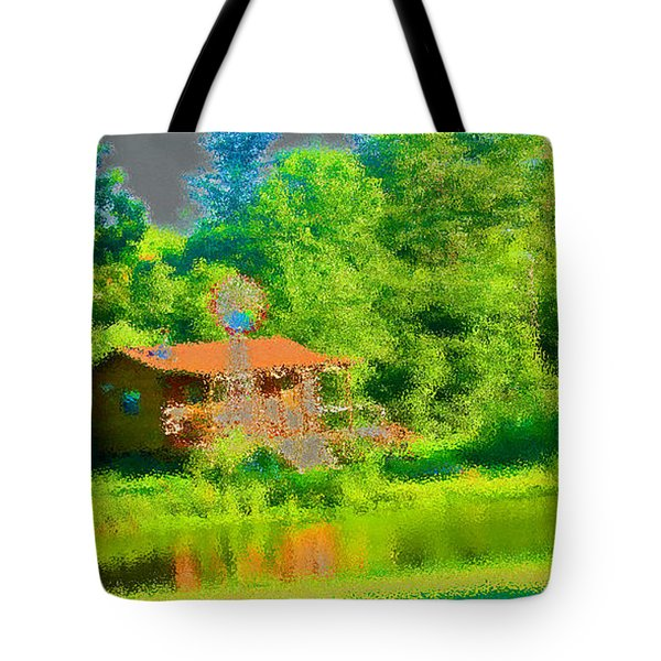 Accountability Tote Bag by Tina M Wenger