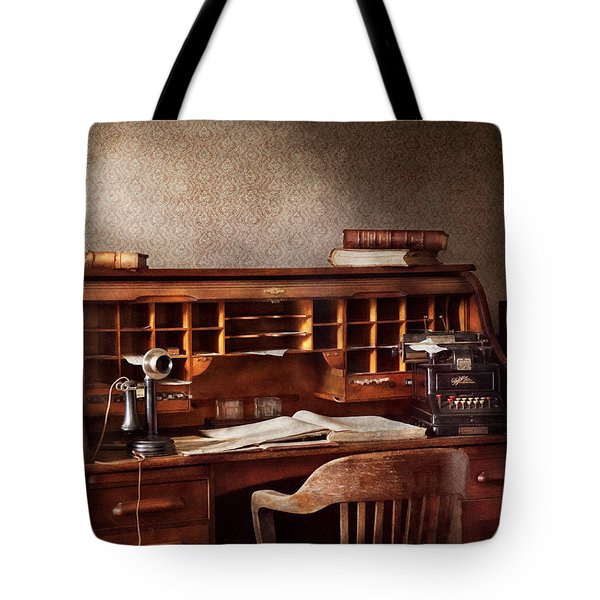 Accountant - Accounting Firm Tote Bag by Mike Savad
