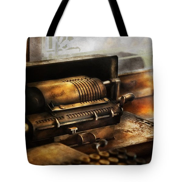 Accountant - The Adding Machine Tote Bag