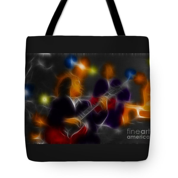 Acdc-angus-95-e5-fractal Tote Bag by Gary Gingrich Galleries