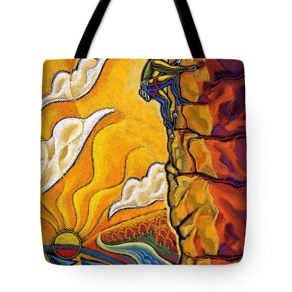 Achievement Tote Bag by Leon Zernitsky